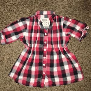Cute plaid blouse